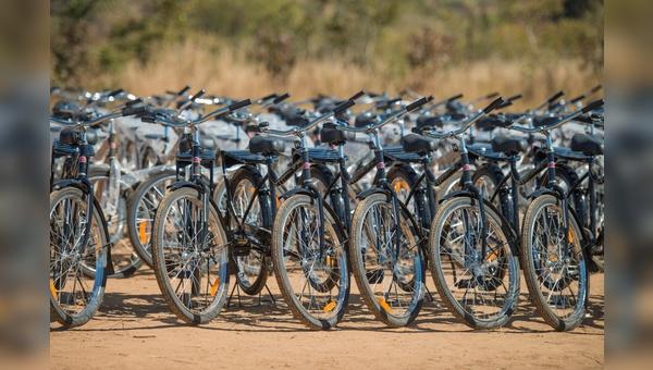 Die Buffalo-Bikes schaffen Mobilität und ein besseres Leben in hilfsbedürftigten Regionen.