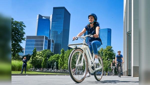 Die Fahrradbranche war u.a. bei den Urban Mediadays 2019 bereits in Frankfurt zu Gast.