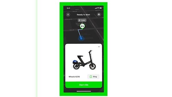 Eine App für verschiedene Mobilitätsanbieter.