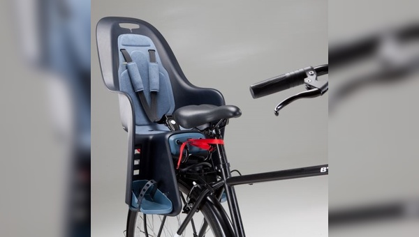 Decathlon ruft Fahrrad-Kindersitz zurück.