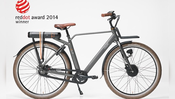 Ausgezeichnet mit dem Red dot Design-Award: E-Bikes von Qwic