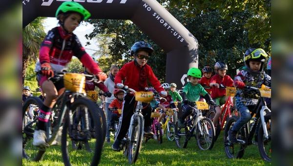 Das Bikefestival in Riva lockete auch den MTB-Nachwuchs an.