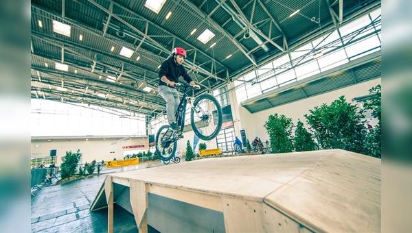 Auf drei Testparcours konnten Räder ausprobiert werden.