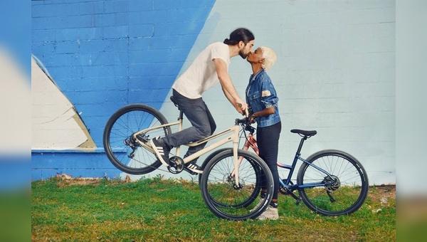 Selbst Küssen wird mit dem neuen Cannondale-Modell zum Kinderspiel.