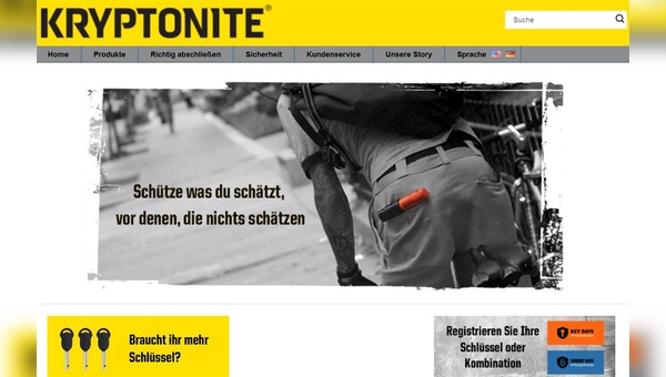 Neuerdings in deutscher Sprache im Netz: