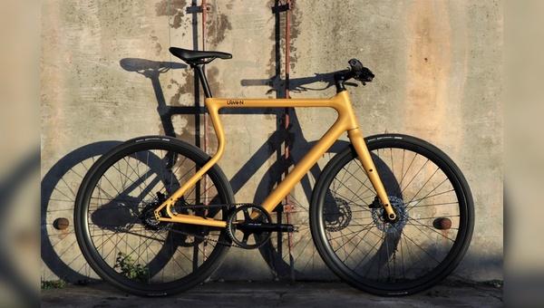 """Der """"Platzhirsch"""" ist das ersten E-Bike von Urwahn"""