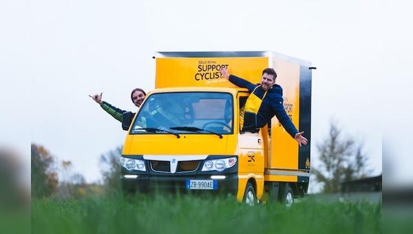 Der gelbe Van rollt wieder an ausgewählte Ziele.