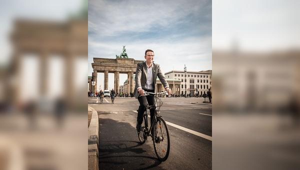 Heinrich Strößenreuther will mit seinen Aktionen die Vorherrschaft des Autos in der Stadt beenden. Das nötige Werkzeug dafür hat er unter anderem als Campaigner bei Greenpeace gelernt.