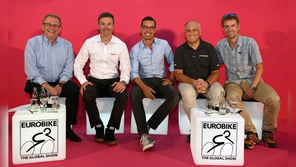 Das Eurobike-Branchengespräch befasste sich auch mit dem Thema Sicherheit.