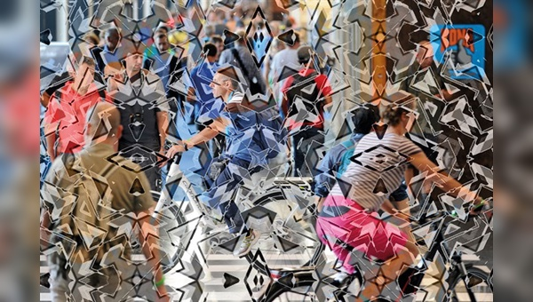 Blick ins Kaleidoskop
