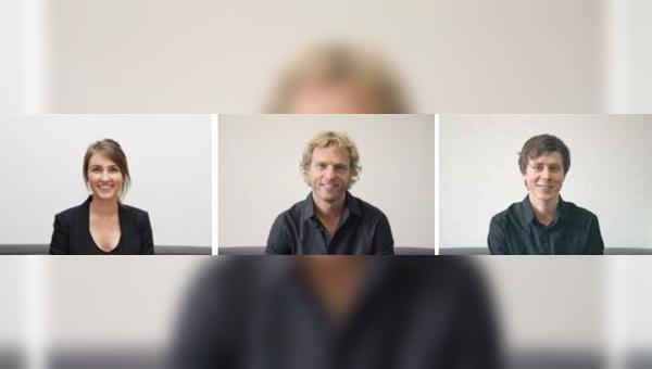 v.l.: Annalena Horsch, David Horsch, Anton Trojosky - Foto: Coboc