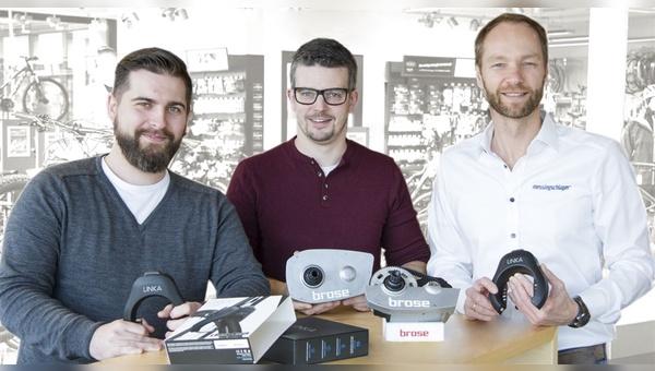 v.l.: Björn Brüggemann, Kai Schultz und Geschäftsführer Dennis Schömburg