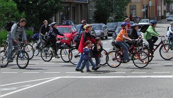 Das Fahrrad gewinnt als Verkehrsmittel weiter an Bedeutung