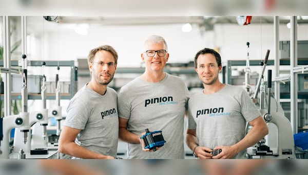 v.l.: Christoph Lermen, Thomas Raith und Michael Schmitz - Foto: Pinion