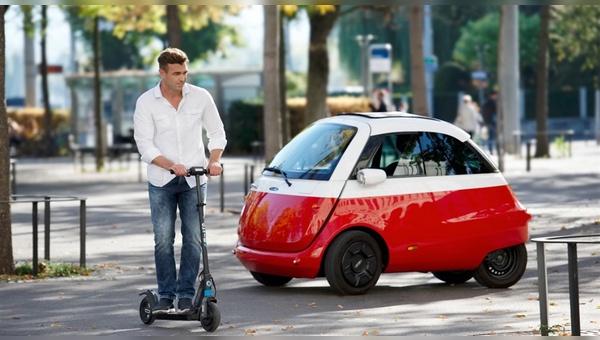 Mikromobile als Problemlöser