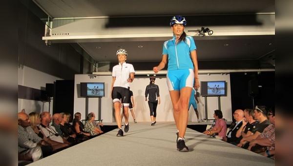 Präsentation auf dem Laufsteg: die kanadische Bikewearmarke Sugoi neu im Portfolio bei Chris Sports