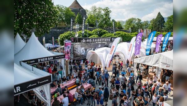 Die Bike Expo der zehnten Bike Days lockte über 25.000 Besucher nach Solothurn.