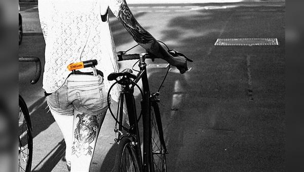 Fahrradkuriere entwickelten bei den neuen Messenger-Schlössern mit