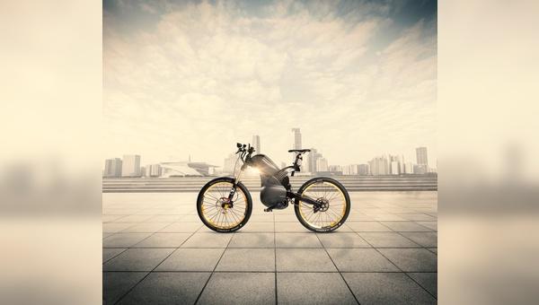 Angesiedelt zwischen Fahrrad und Motorrad: das Pike