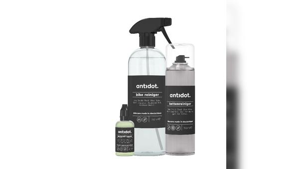 Antidot heißt eine neue Marke im Bereich Fahrradpflege.