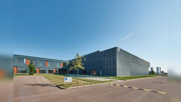 Die neuen Produktionshallen von HNF-Nicolai.