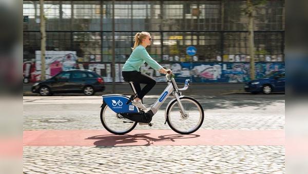 Unverkennbar Nextbike – aber im Design eines modernen E-Bikes. Auch wenn die Räder gut genutzt werden: Sie werden die analogen nicht ersetzen.