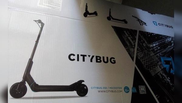 Rapex spricht eine Warnung vor dem Citybug aus.