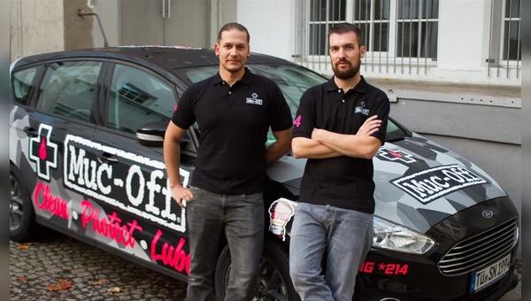 Zwei neue Markenvertreter für Muc-Off in Nord- und Süddeutschland.