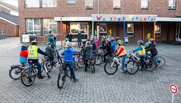 Mehr Grundschüler rauf aufs Rad