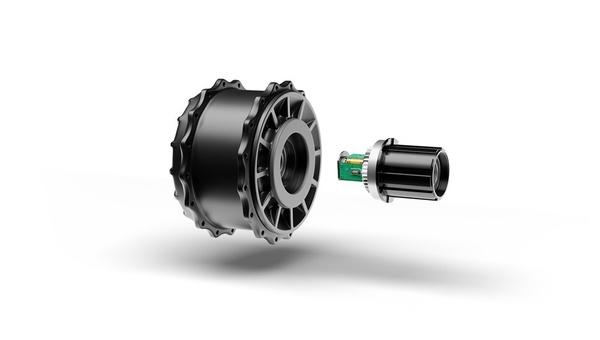 Diesen Heckmotor stellten die Muenchner auf der Eurobike 2019 vor.