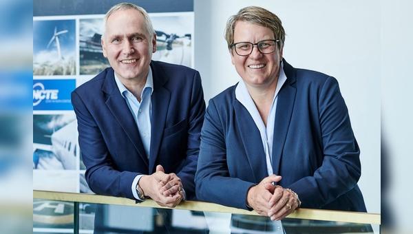 Neue Doppelspitze: Jürgen Uebbing (links) und Verena Graf
