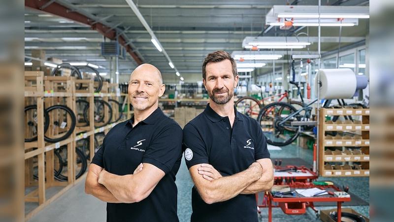 Stefan Vollbach (links) und Neuzugang Thomas Zenker