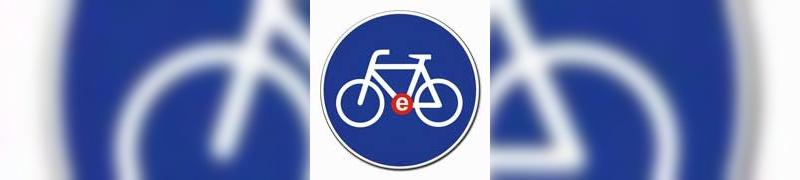 Vorfahrt für E-Bikes