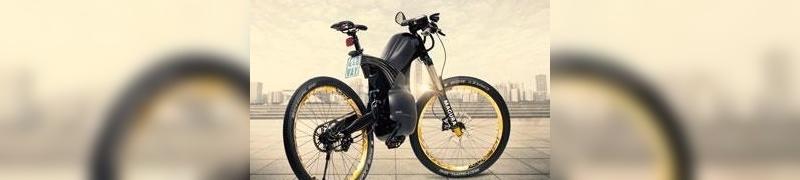 Sollte eine Lücke zwischen Fahrrad und Motorrad schließend: Das E-Bike Pike