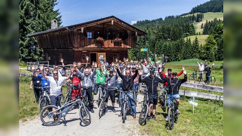Vorträge gepaart mit E-Bike-Touren ergeben eine außergewöhnlichen Kongress