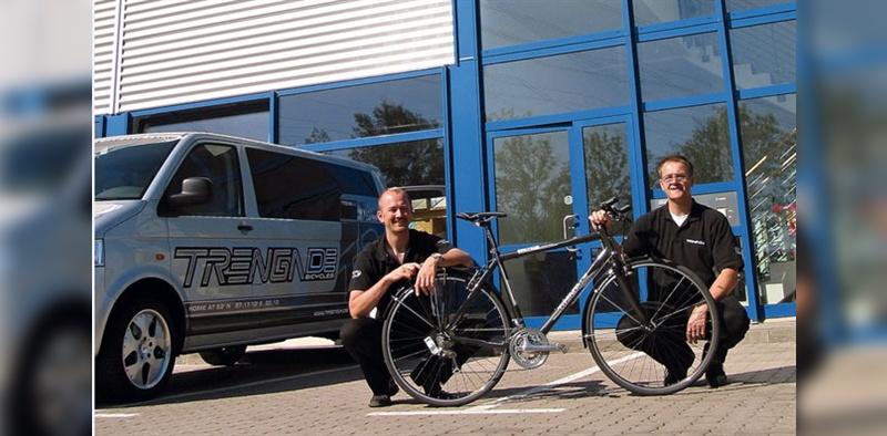 Seit 1994 werden Fahrräder unter dem Markennamen Trenga DE produziert.