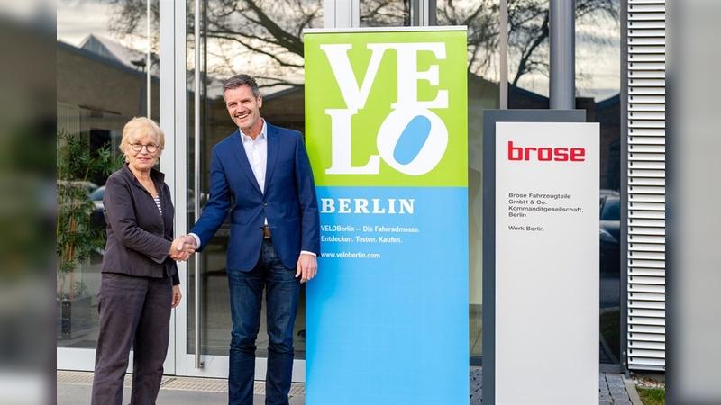 Ulrike Saade und Thomas Leicht freuen sich auf die VELOBerlin