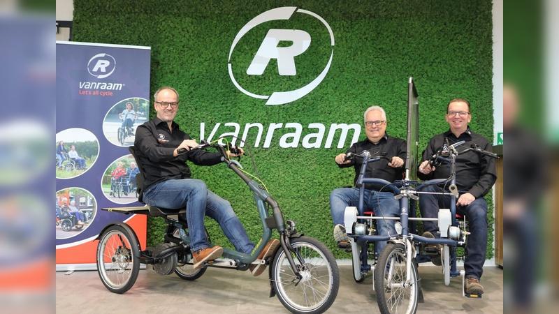 Der branchenerfahrene Neuzugaenge schickt Van Raam in Deutschland ins Vertriebsrennen.