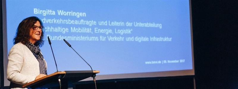 Das Verkehrsministerium unterstützte den Start-up-Wettbewerb.