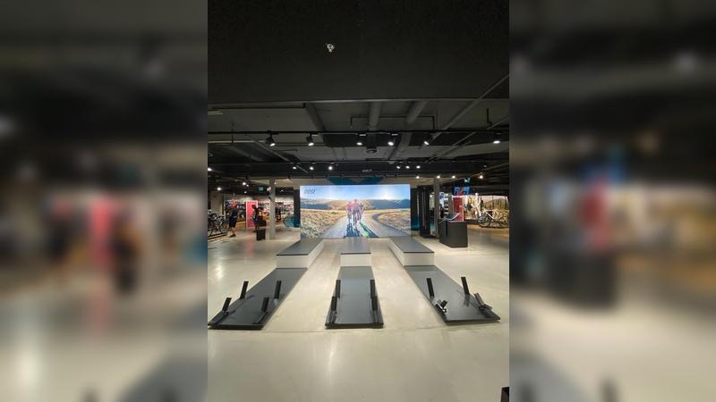 Shop-in-Shop-Konzept bei Engelhorn Sports
