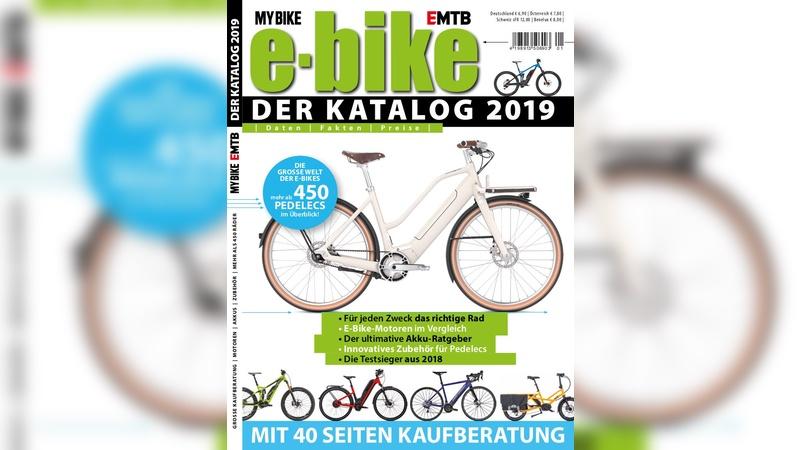 Neuer E-Bike-Katalog 2019