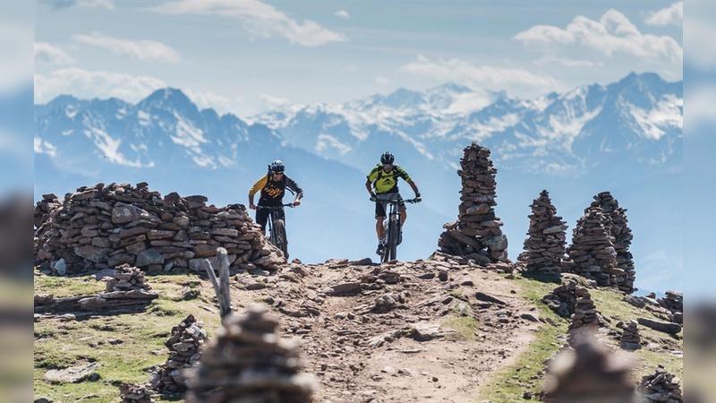 Traumhafte Aussichten bei der Shimano E-Mountainbike-Experience in Südtirol