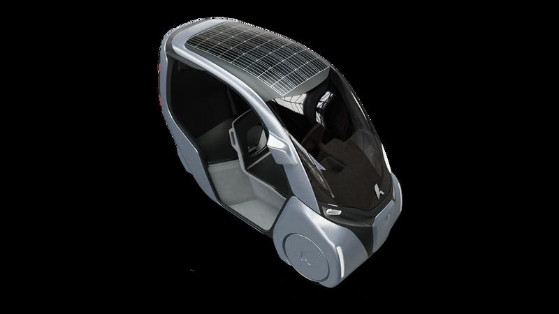 Der Hopper - das Solar Panel ist als Erweiterung geplant.