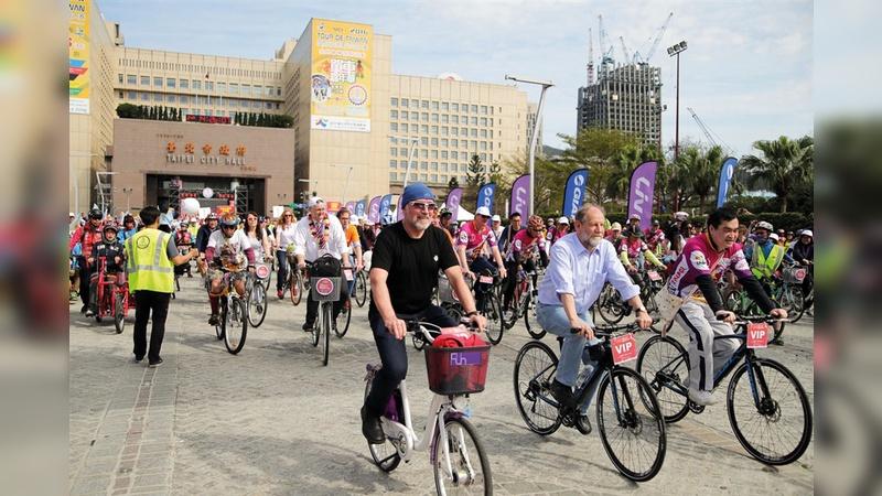 In der taiwanischen Metropole Taipeh feierte der Radverkehrskongress des ECF seine Asien-Premiere.