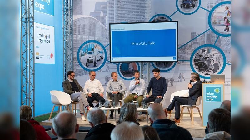Das Forum ist zentraler Teil der Micromobility Expo