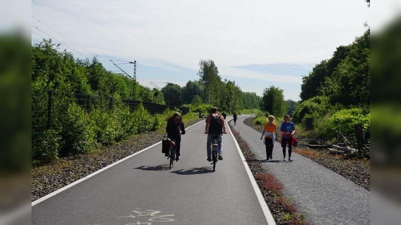 Optimale Bedingungen für Radfahrer und Fußgänger