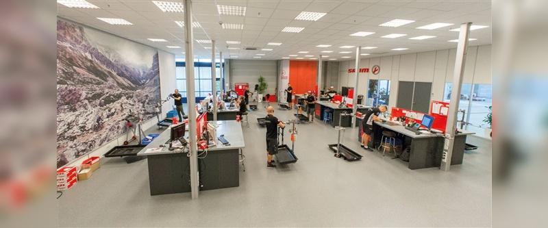 Die elf DSD-Mitarbeiter in Schweinfurt haben viel Platz zum Arbeiten.