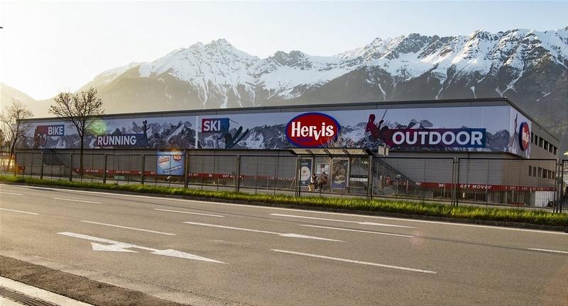 Der neue Flagship-Store in Innsbruck.