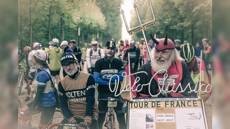 Spaß an der Fahrradgeschichte steht im Vordergrund.