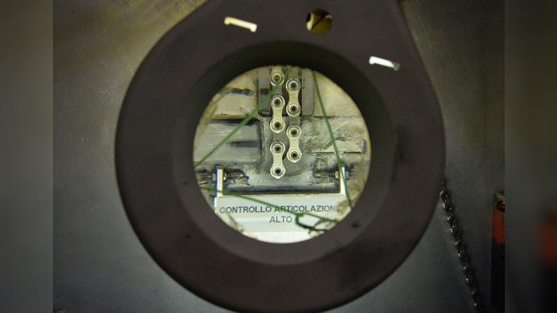 Die Details zählen: Bei Campagnolo legt man Wert auf technische Perfektion.